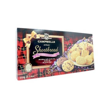 Campbells Shortbread Reserve Collection 210g/ Galletas de Mantequilla Variadas