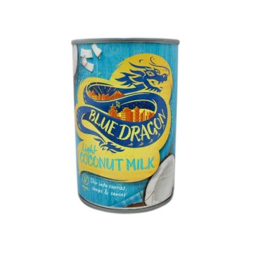 Blue Dragon Coconut Milk Light 400ml/ Leche de Coco Light