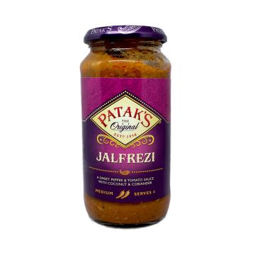 Patak's Jalfrezi Sauce 450g/ Salsa Jalfrezi
