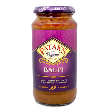Patak's Balti Sauce Medium 450g/ Salsa Balti