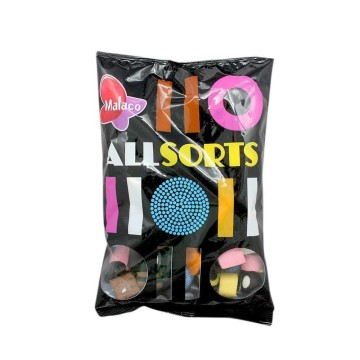 Malaco Allsorts 400g/ Regalices Variados