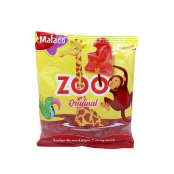 Malaco Zoo 80g/ Golosinas Sabor Frutas