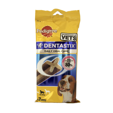 Pedigree dentastix Medium 180g/ Snack dental Perro