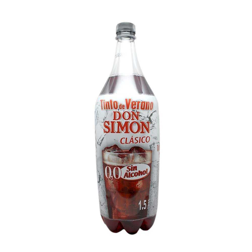 Don Simón Tinto De Verano Sin Alcohol 1 5l Alcohol Free Red Wine Drink Supermercado Costablanca Sl