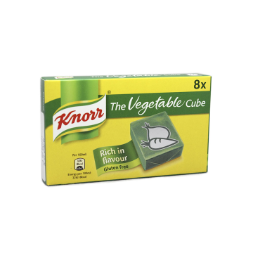 Knorr The Vegetable Cube x8/ Potenciador Verdura