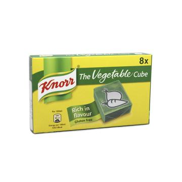Knorr The Vegetable Cube / Potenciador con Sabor a Verdura x8