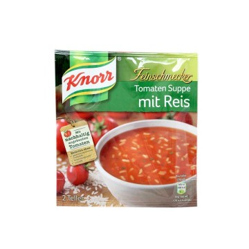 Knorr Feinschmecker Tomaten Suppe mit Reis 52g/ Tomato Soup with Rice