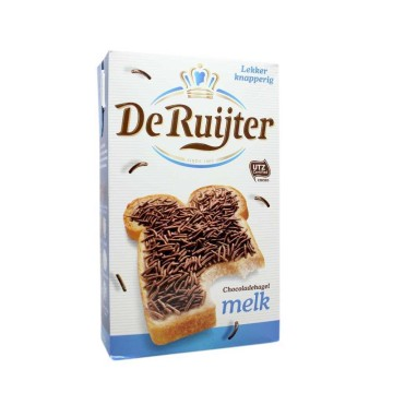 De Ruijter Chocoladehagel Melk 380g/ Milk Chocolate Sprinkles