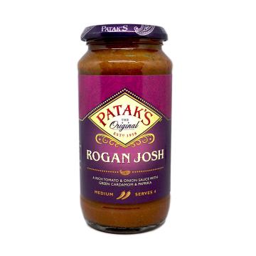 Patak's Rogan Josh Sauce 450g/ Salsa Rogan Josh