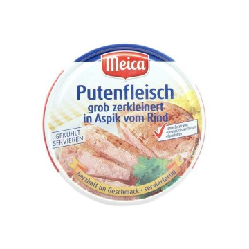 Meica Putenfleisch in Aspik vom Rind 200g/ Turkey Meat in Gelatine