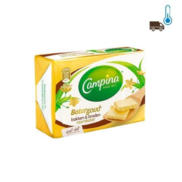 Campina Botergoud Bakken&Braden Roomboter 200g/ Margarine for Cooking