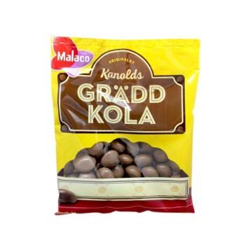 Malaco Kanolds Gräddkola 130g/ Chocolate and Cream Candies