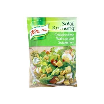 Knorr Salat Krönung Croutinos mit Walnuss und Sojakernen 25g/ Picatostes con Nueces y Soja