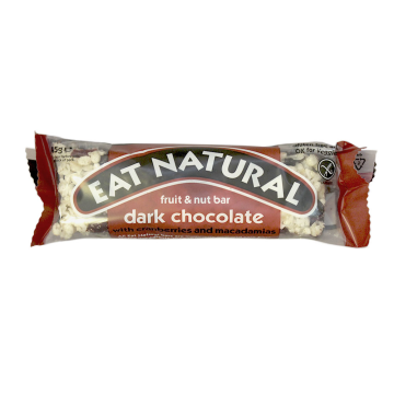 Eat Natural Cranberries & Macadamias Chocolate Bar/ Barrita Cereales