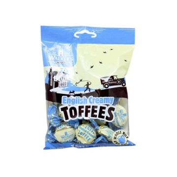 Walker's English Creamy Toffees 150g/ Caramelos Blandos de Nata