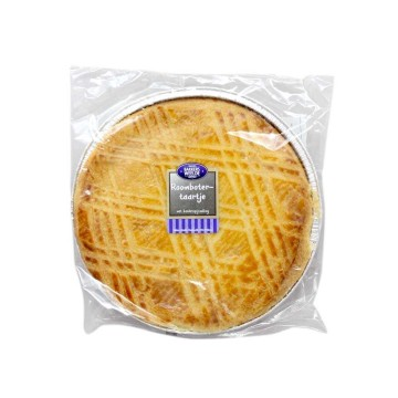 Bakkers Weelde Roombotertaartje 450g/ Custard Cream Filled Cake