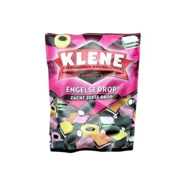 Klene Engelse Drop Zach Zoet 300g/ Regalices Dulces y Blandos