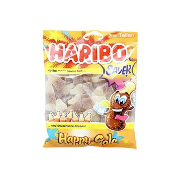 Haribo Happy-Cola Sauer! 200g/ Sour Cola Gummies