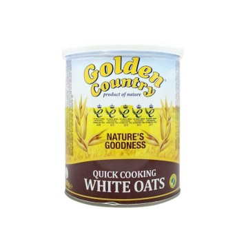 Golden Country Quick Cooking White Oats 500g/ Avena para Cocinar Rápida