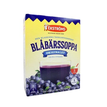Ekströms Blåbärssoppa Pulver 3L/ Blueberry Soup