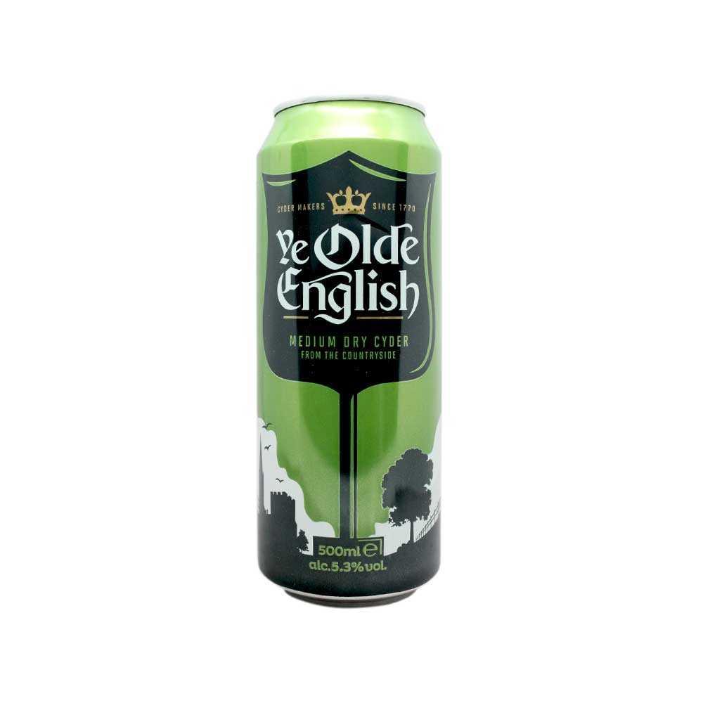 olde english medium dry cider 5 3 500ml sidra seca
