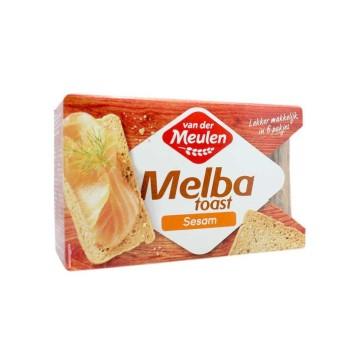 Van der Meulen Melba Toast Sesam 120g/ Sesam Toasts