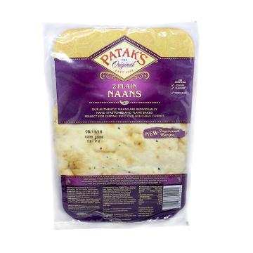 Patak's Plain Naans x2/ Pan Naan