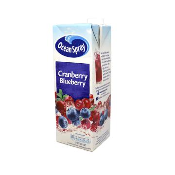 Ocean Spray Cranberry & Blueberry 1L/ Zumo de Arándanos Rojos y Negros