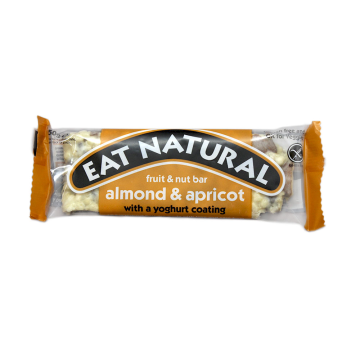 Eat Natural Almond & Apricot Bar With yoghurt/ Barrita Cereales