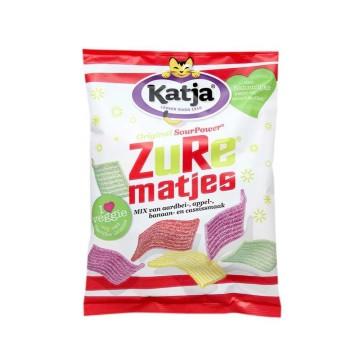 Katja Zure Matjes 275g/ Tiras Ácidas Sabor Frutas