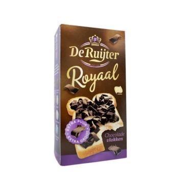 De Ruijter Royaal Chocolade Vlokken Puur 300g/ Dark Chocolate Sprinkles