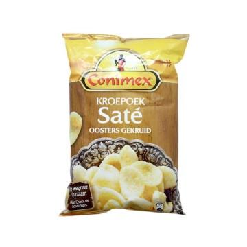 Conimex Kroepoek Saté 75g/ Pan de Gambas sabor Salsa Cacahuete