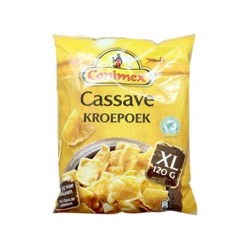 Conimex Cassave Kroepoek XL 120g/ Yucca Prawn Crackers