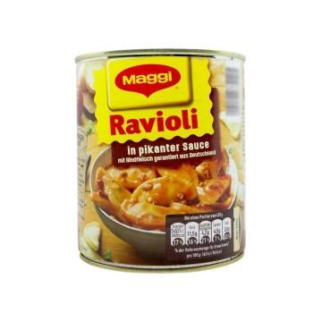 Maggi Ravioli in Pikanter Sauce 800g/ Raviolis de Carne en Salsa Picante