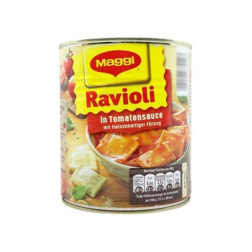 Maggi Ravioli in Tomatensauce 800g/ Meat Filled Ravioli in Tomato Sauce