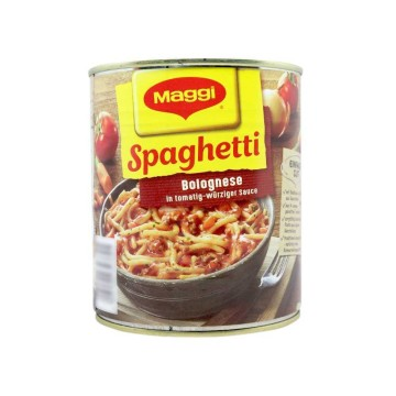 Maggi Spaghetti Bolognese in Tomatig-Würziger Sauce 810g/ Espaguetis en Salsa Tomate Picante