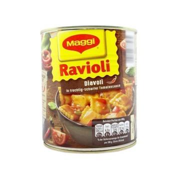 Maggi Ravioli Diavoli in Fruchtig-Scharfer Tomatensauce 800g/ Ravioli en Salsa Picante