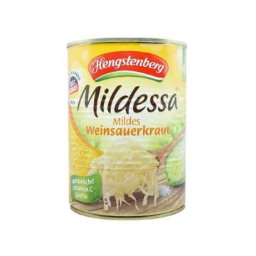Hengstenberg Mildessa Mildes Weinsauerkraut 550g/ Chucrut al Vino Blanco