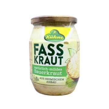 Kühne Fasskraut Natürlich-Mildes Sauerkraut 680g/ Chucrut