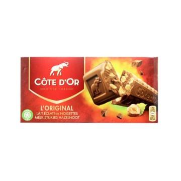 Côte D'Or L'Original Melk Stujkes Hazelnoot 2x200g/ Chocolate con Leche y Avellana
