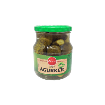 Nora Hele Agurker 580g/ Whole Pickles