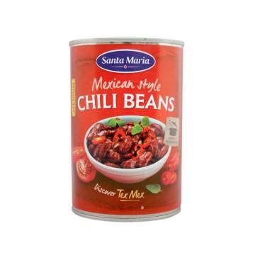 Santa Maria Mexican Chili Beans 400g/ Frijoles con Chili