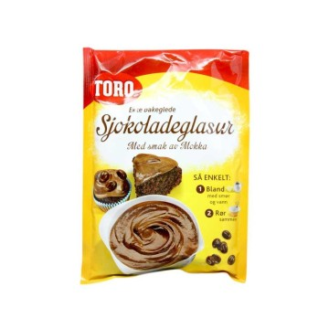 Toro Sjokoladeglasur Med Mokka 140g/ Chocolate Cover with Mocha