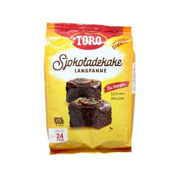 Toro Sjokoladekake Langpanne 854g/ Preparado Tarta Chocolate Sin Gluten