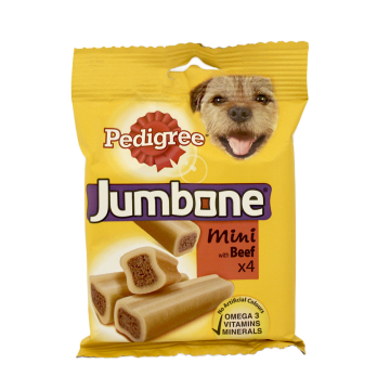 Pedigree Jumbone Mini Beef 180g
