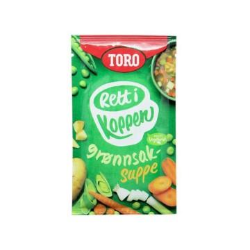 Toro Rett i Koppen Grønnsaksuppe 20g/ Sopa de Verduras