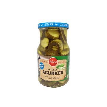 Nora Skivede Agurker 850g/ Sliced Pickles