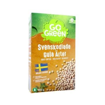 Gogreen Gula Ärter Svenskodlade 500g/ Guisantes Amarillos