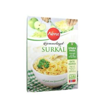 Nora Hjemmelavet Surkål 450g/ White Cabbage