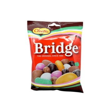 Cloetta Bridge Original 180g/ Caramelos y Bolitas Chocolate